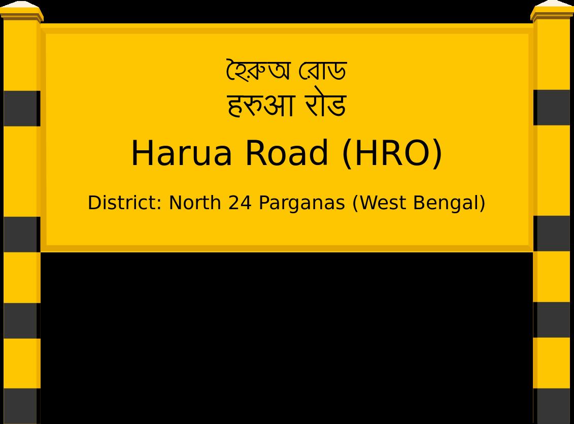 Harua Road (HRO) Railway Station