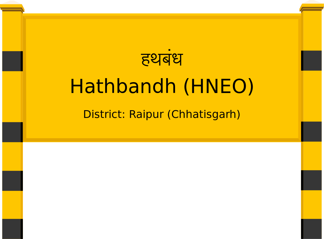 Hathbandh (HNEO) Railway Station