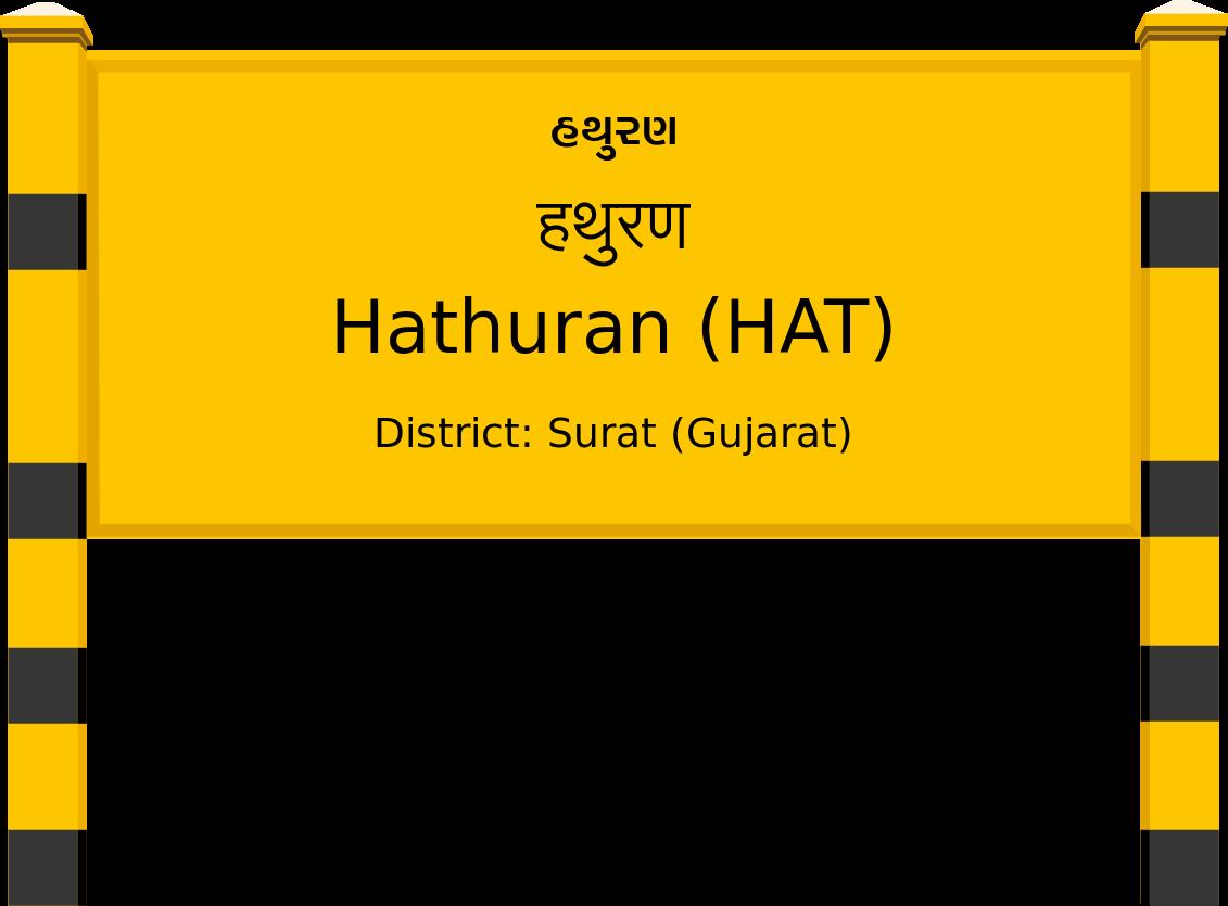 Hathuran (HAT) Railway Station