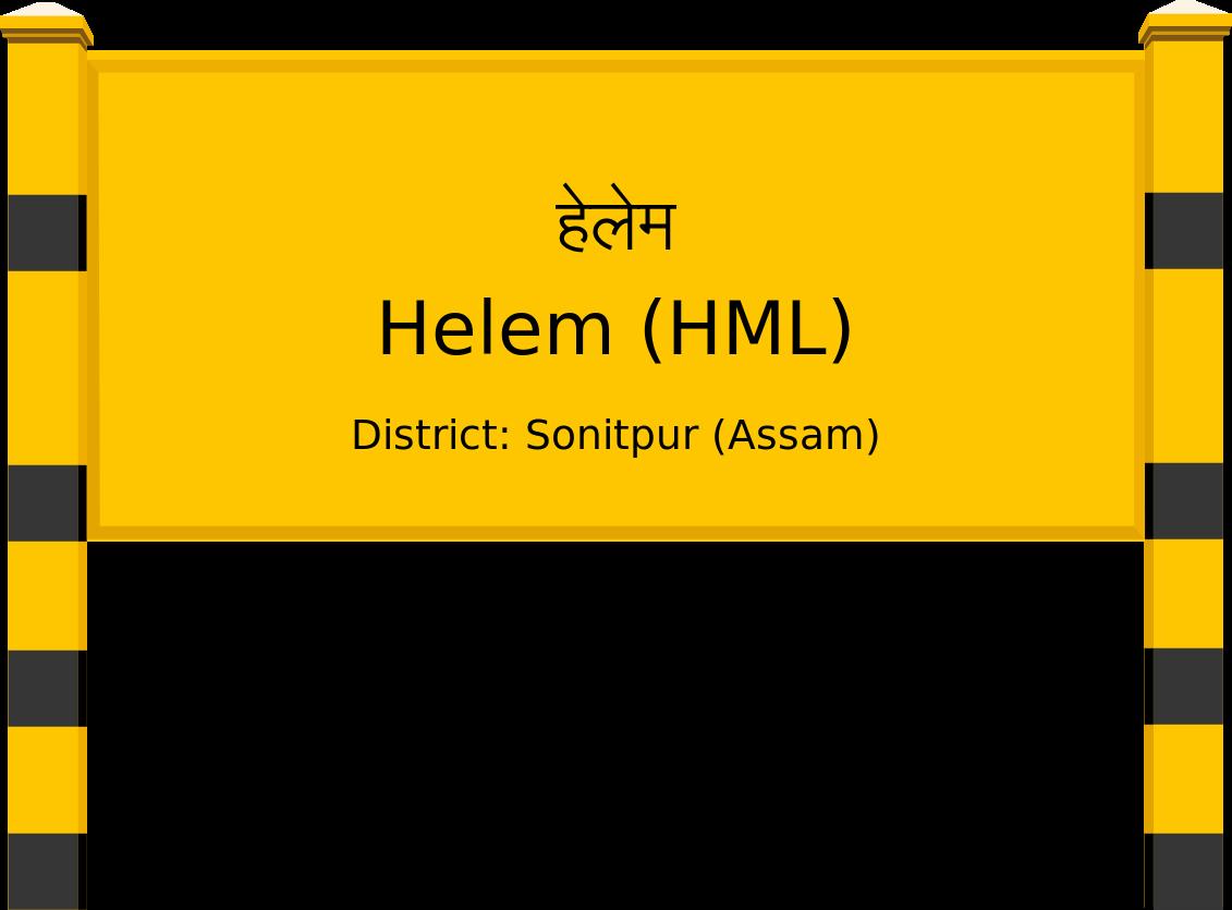 Helem (HML) Railway Station