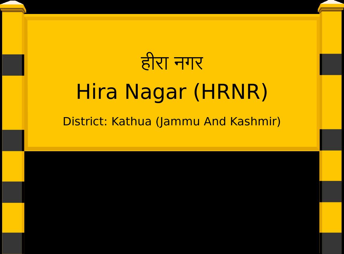 Hira Nagar (HRNR) Railway Station