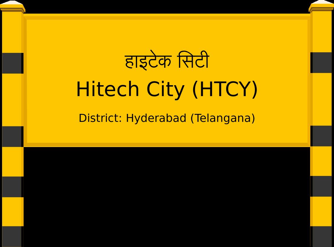 Hitech City (HTCY) Railway Station