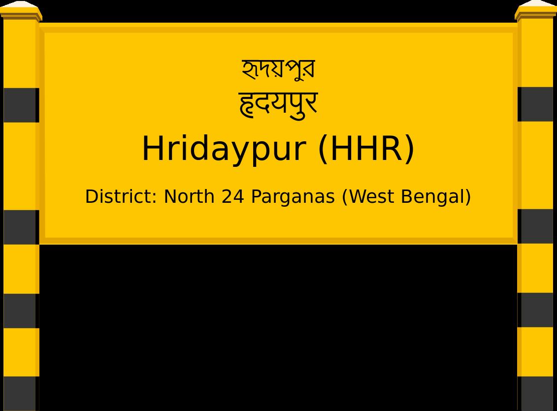 Hridaypur (HHR) Railway Station