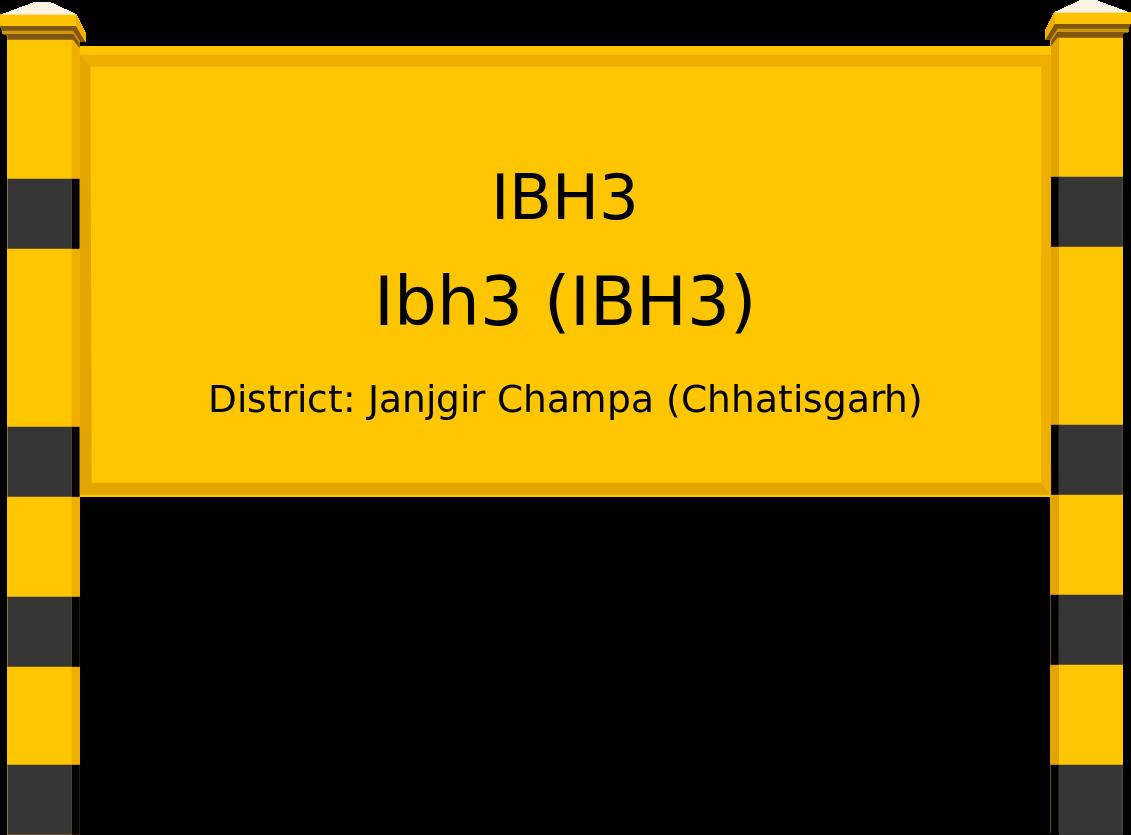 Ibh3 (IBH3) Railway Station