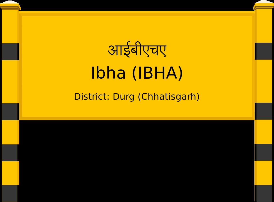 Ibha (IBHA) Railway Station