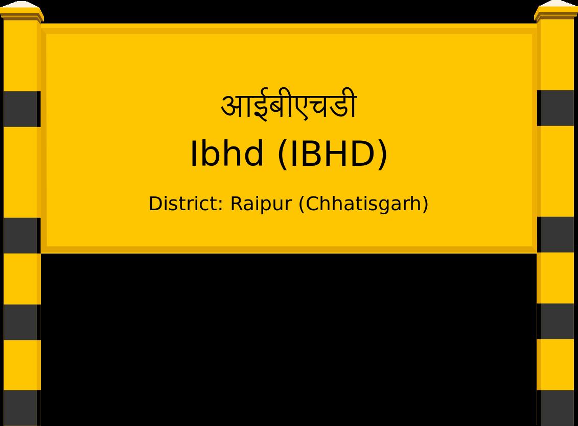 Ibhd (IBHD) Railway Station