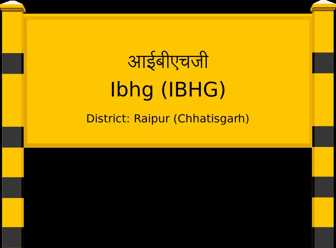 Ibhg (IBHG) Railway Station