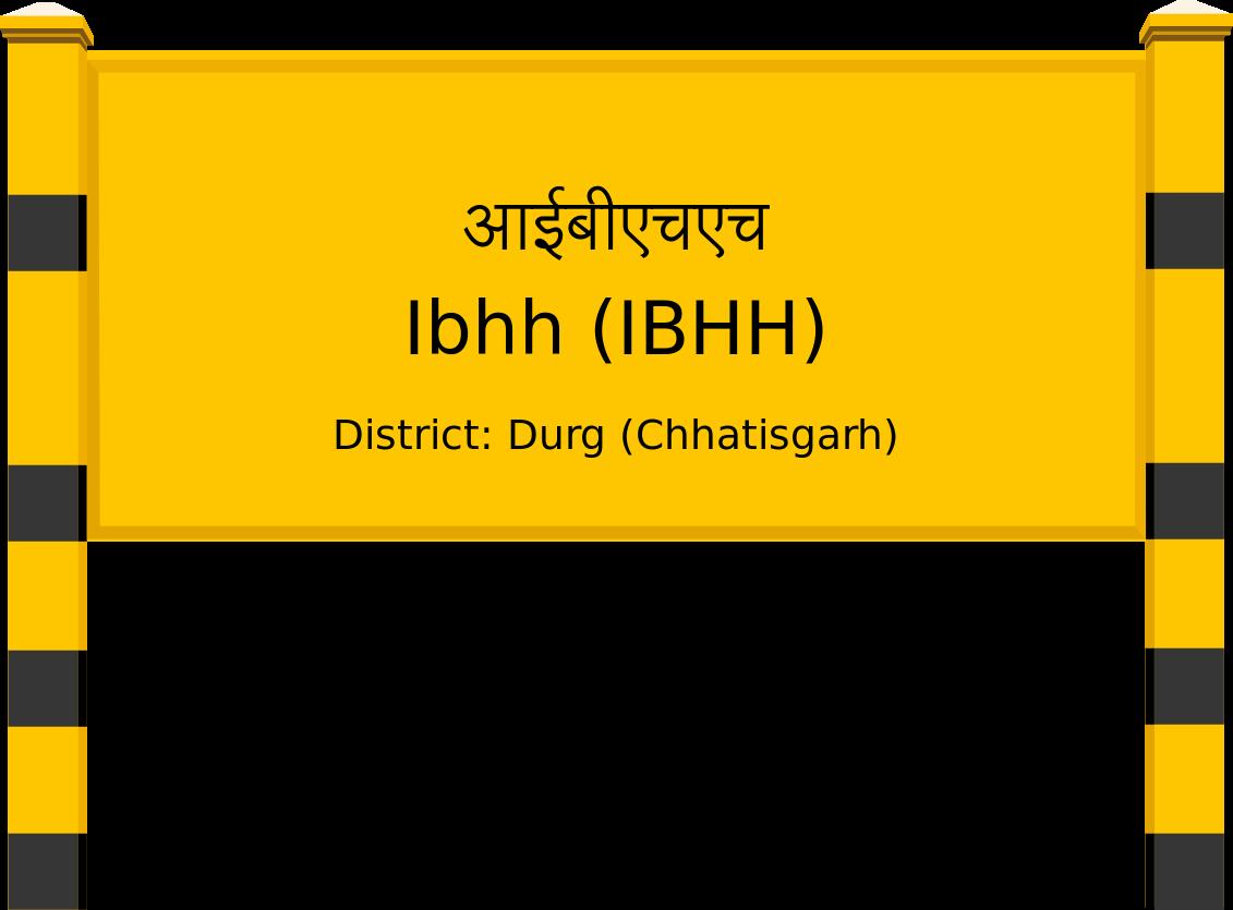 Ibhh (IBHH) Railway Station