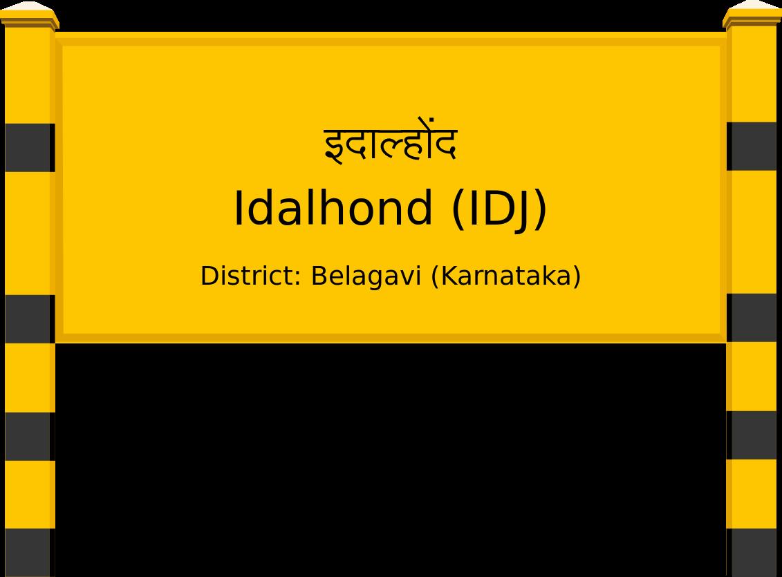 Idalhond (IDJ) Railway Station