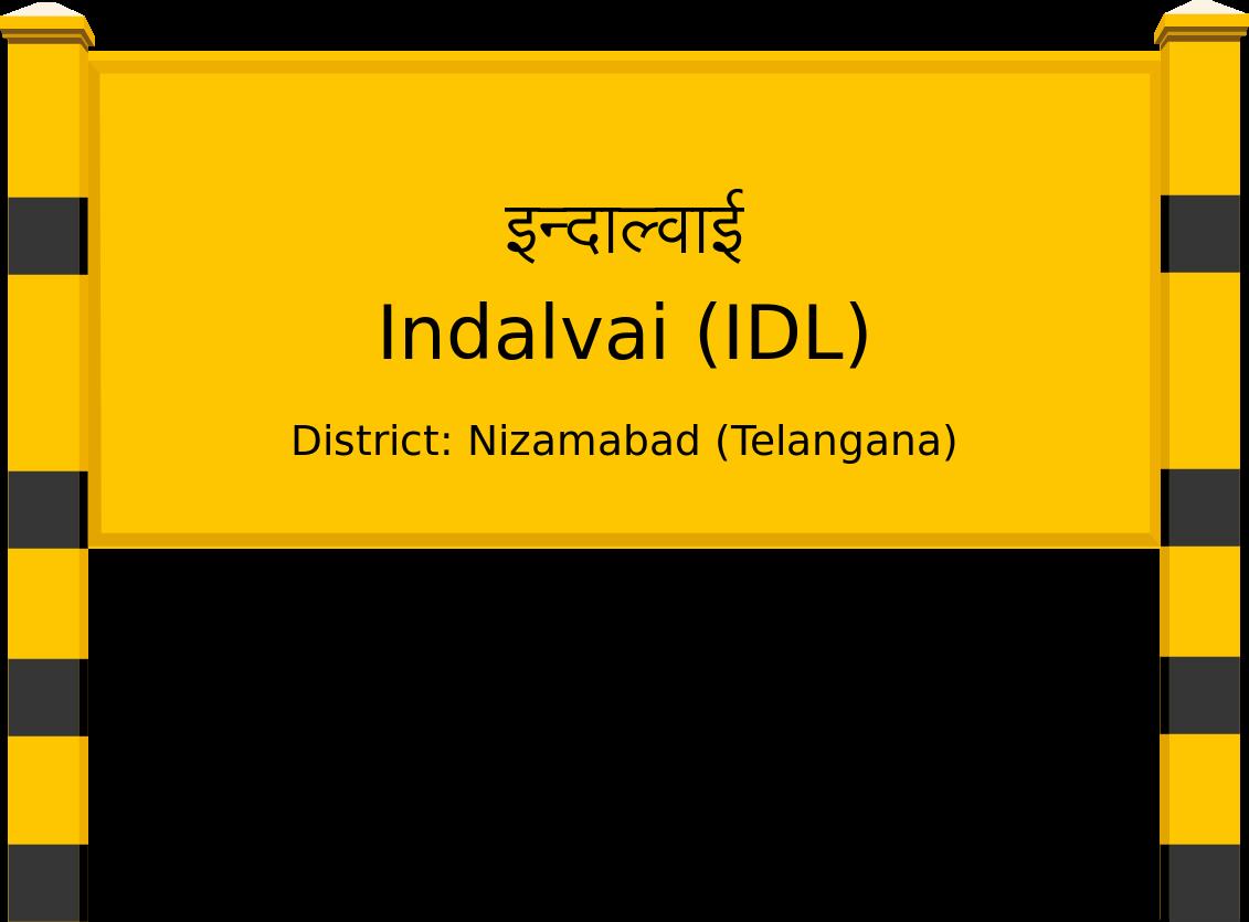 Indalvai (IDL) Railway Station