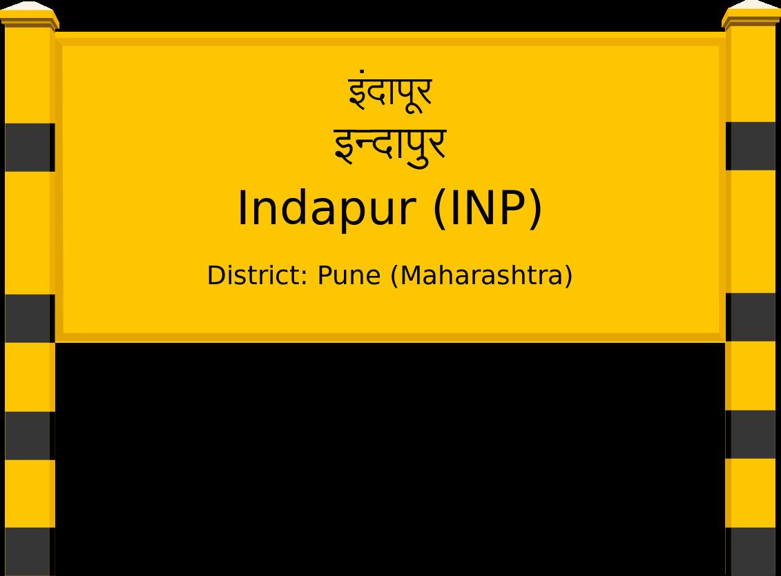 Indapur (INP) Railway Station