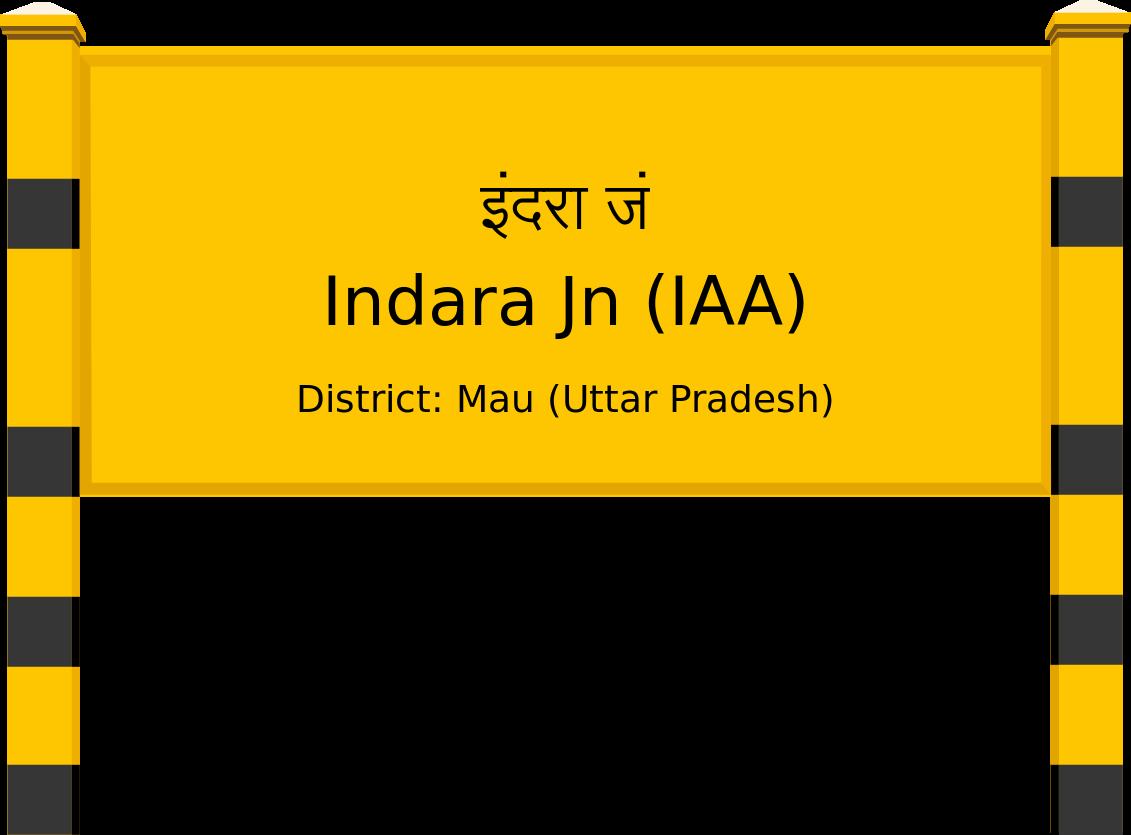 Indara Jn (IAA) Railway Station