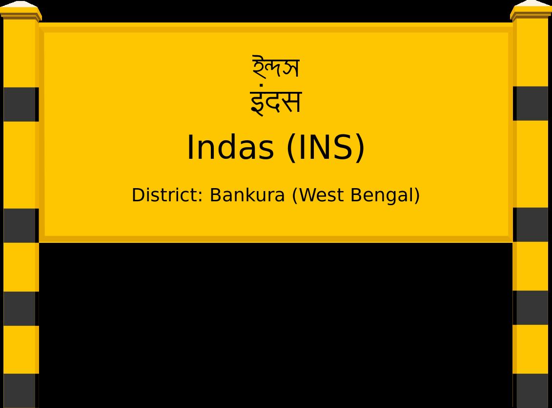 Indas (INS) Railway Station