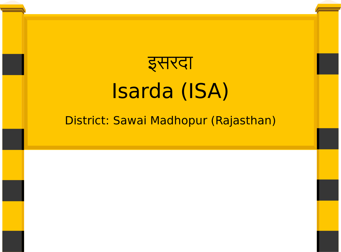 Isarda (ISA) Railway Station