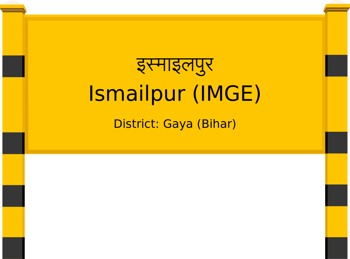 Ismailpur (IMGE) Railway Station