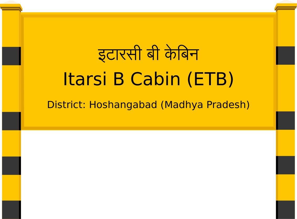 Itarsi B Cabin (ETB) Railway Station