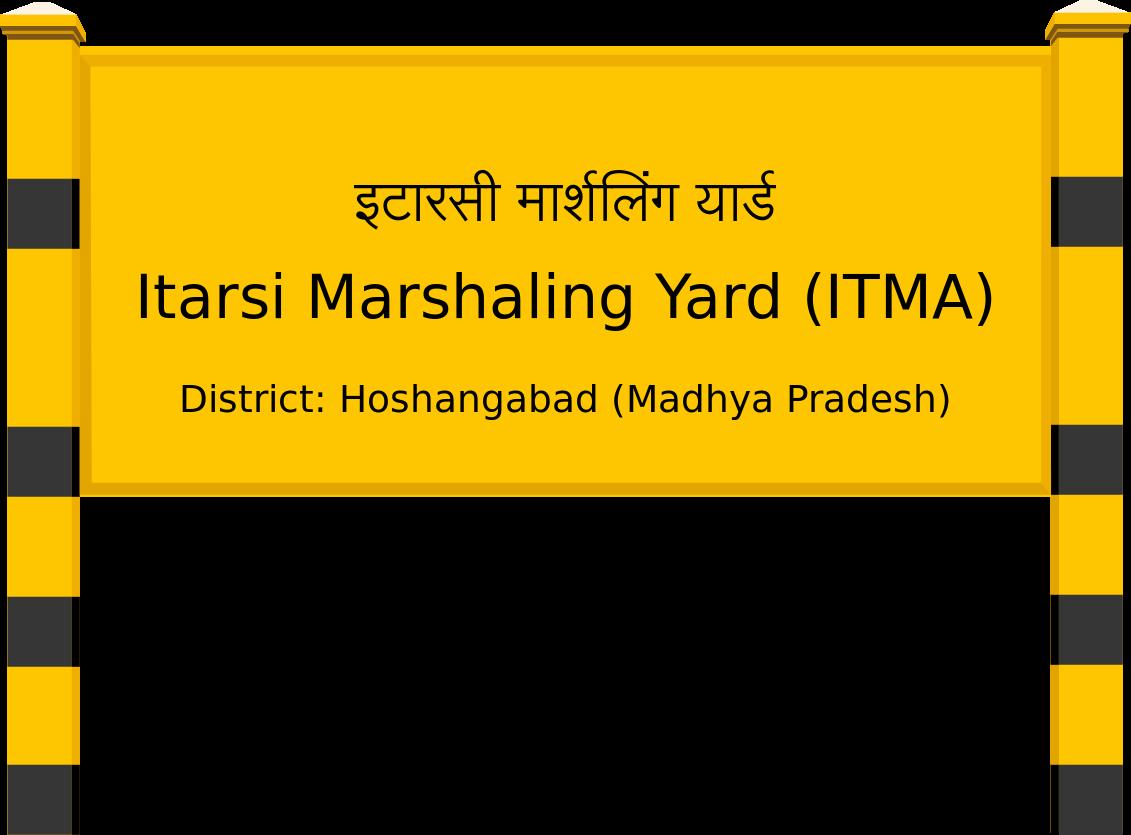 Itarsi Marshaling Yard (ITMA) Railway Station