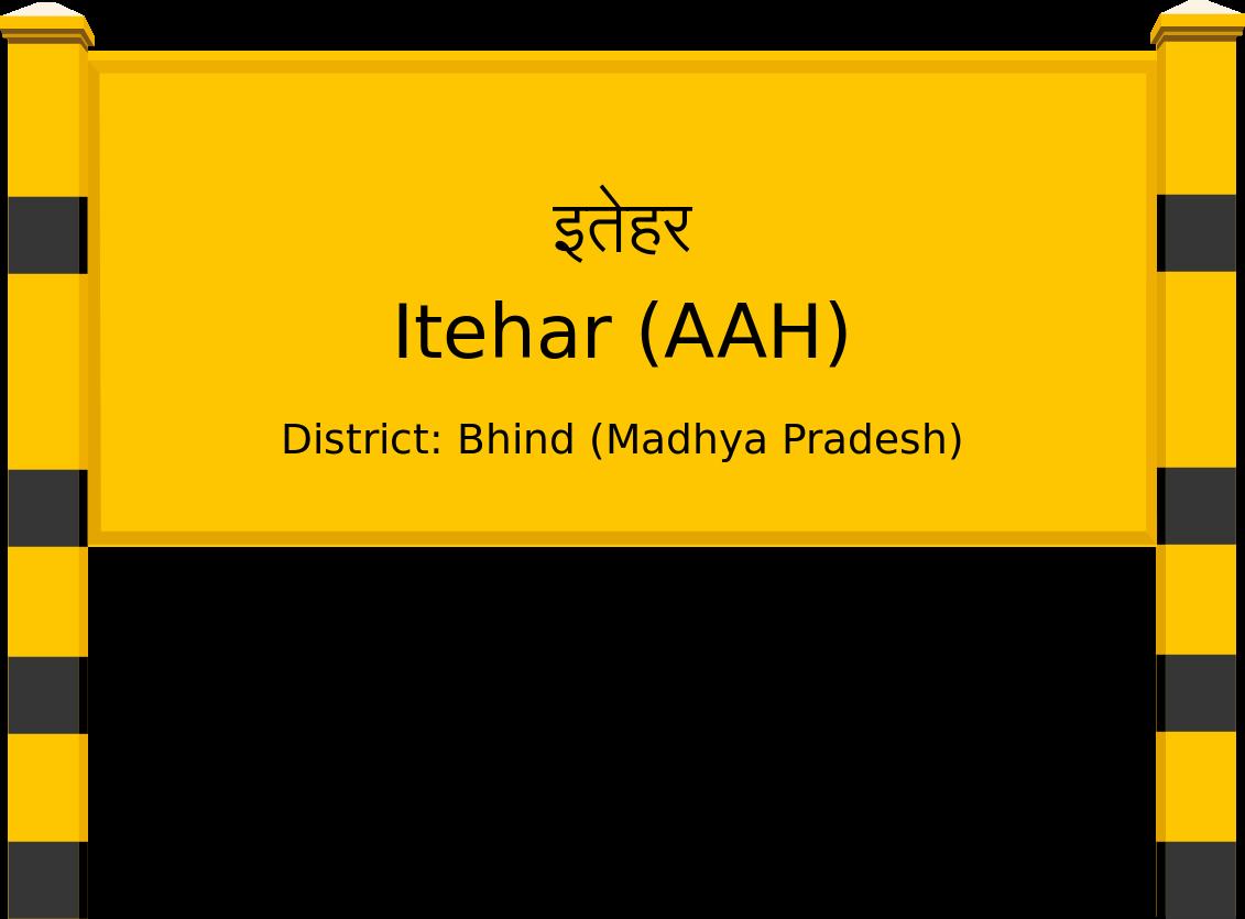 Itehar (AAH) Railway Station