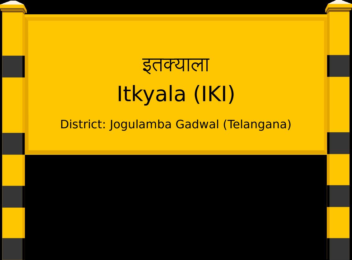 Itkyala (IKI) Railway Station