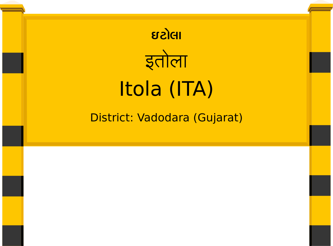 Itola (ITA) Railway Station