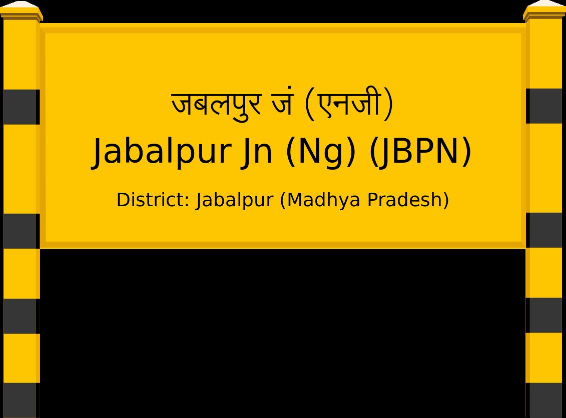 Jabalpur Jn (Ng) (JBPN) Railway Station