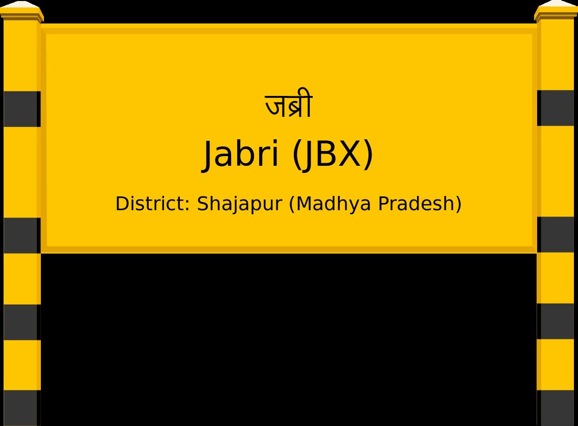 Jabri (JBX) Railway Station
