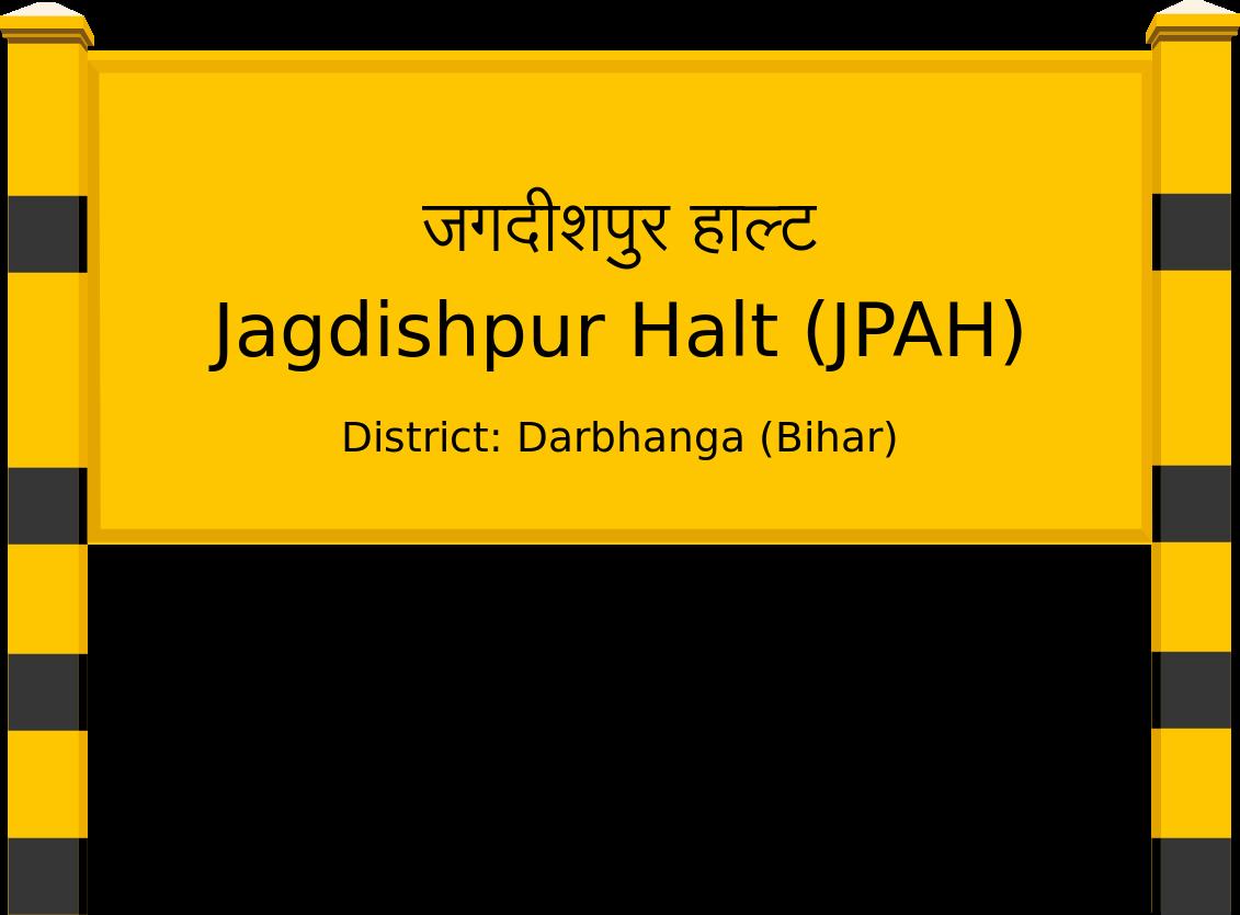 Jagdishpur Halt (JPAH) Railway Station