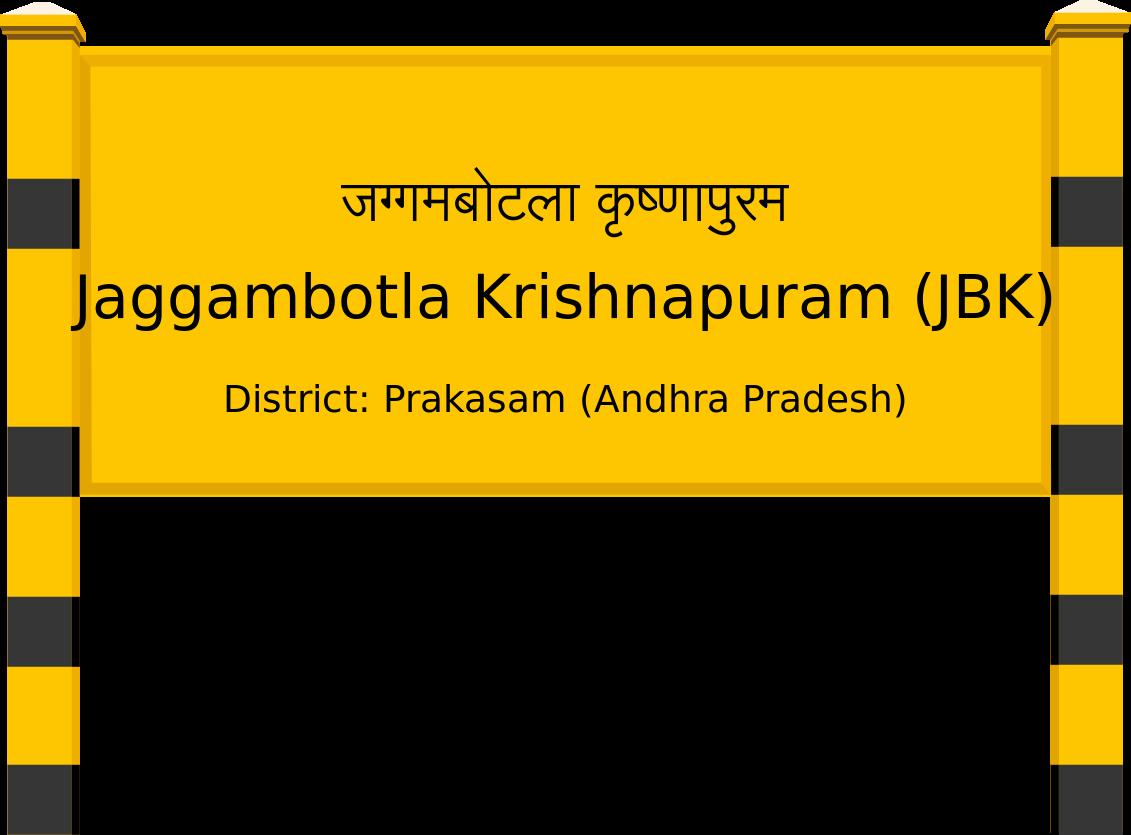 Jaggambotla Krishnapuram (JBK) Railway Station