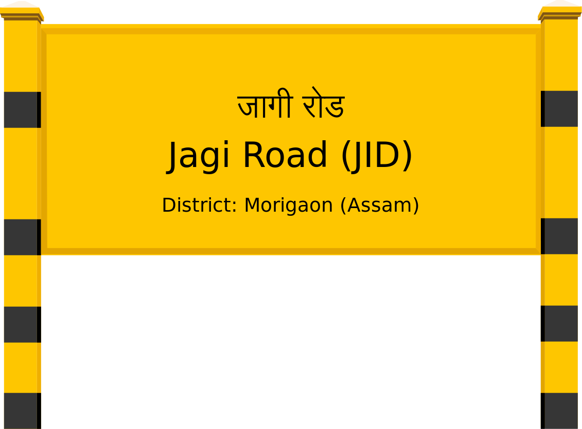 Jagi Road (JID) Railway Station
