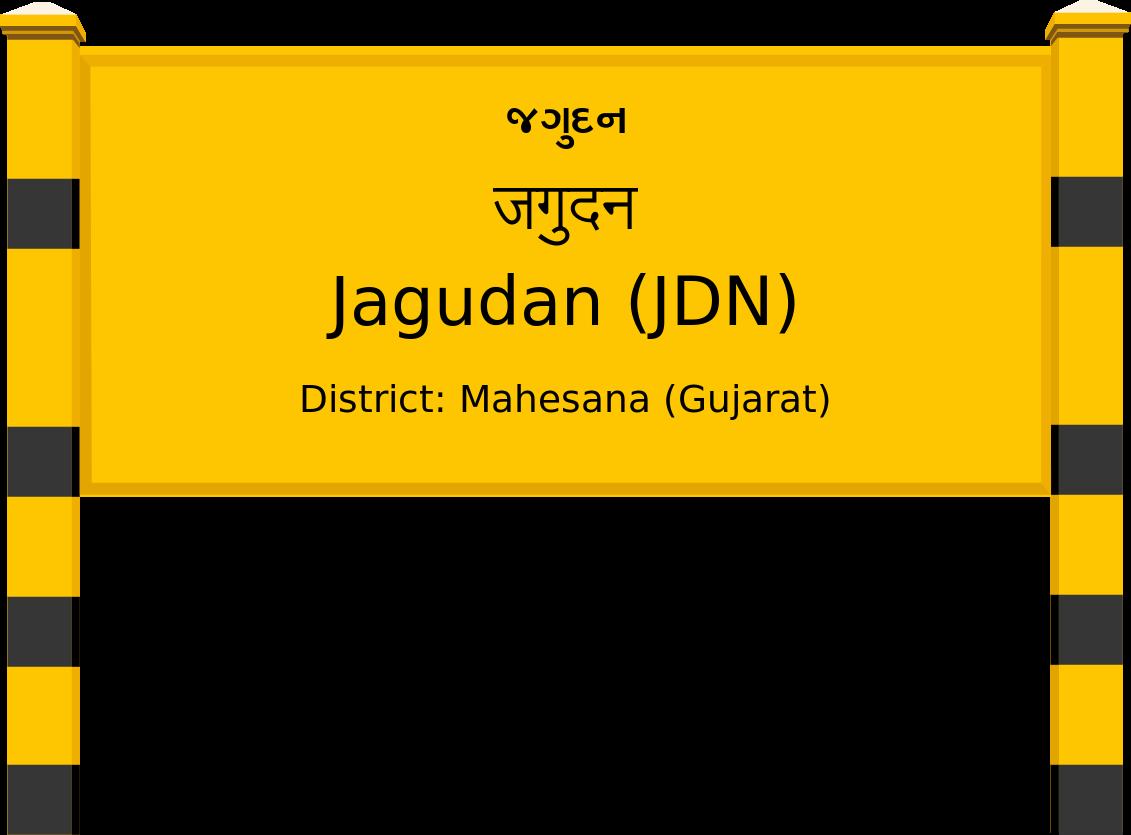 Jagudan (JDN) Railway Station