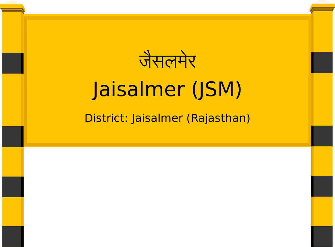 Jaisalmer (JSM) Railway Station