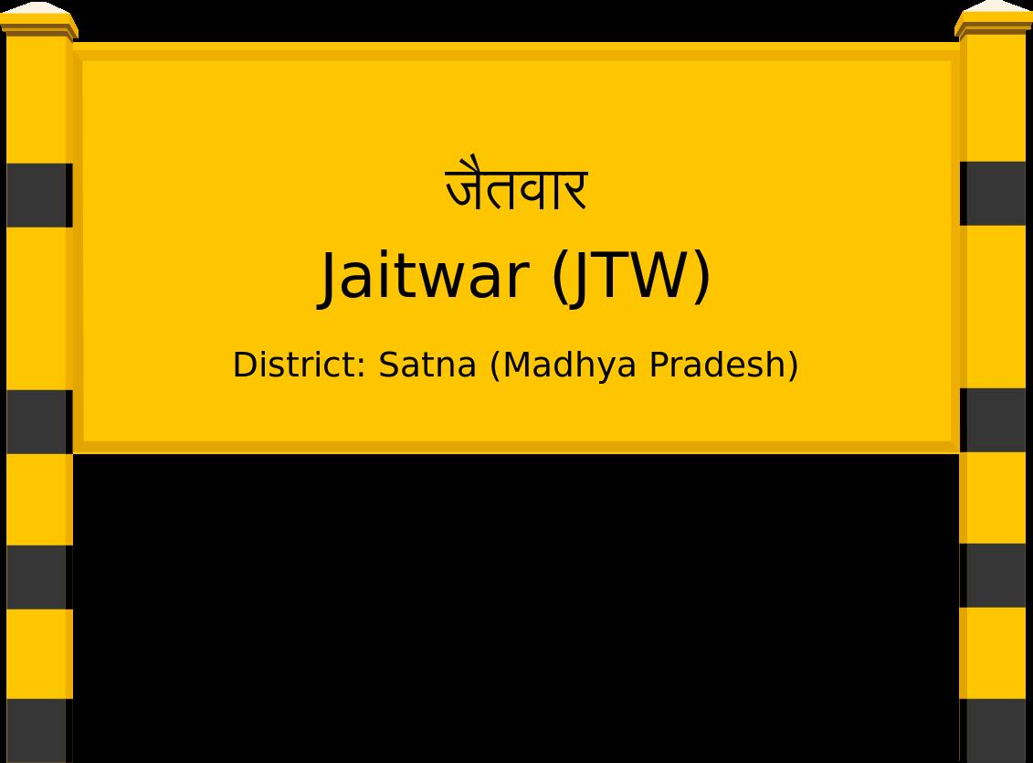 Jaitwar (JTW) Railway Station