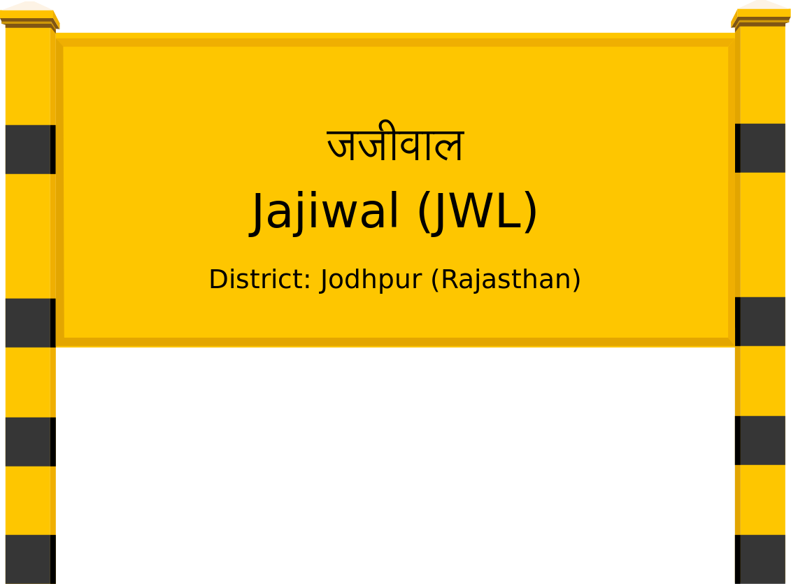 Jajiwal (JWL) Railway Station