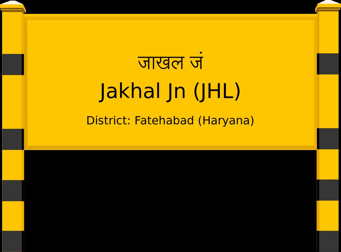 Jakhal Jn (JHL) Railway Station