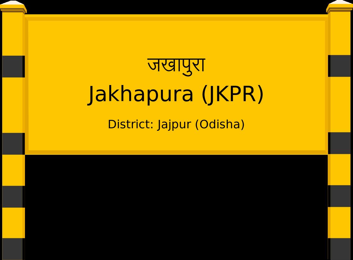 Jakhapura (JKPR) Railway Station