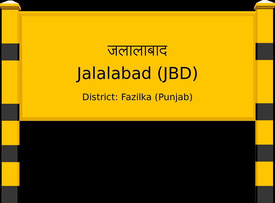 Jalalabad (JBD) Railway Station