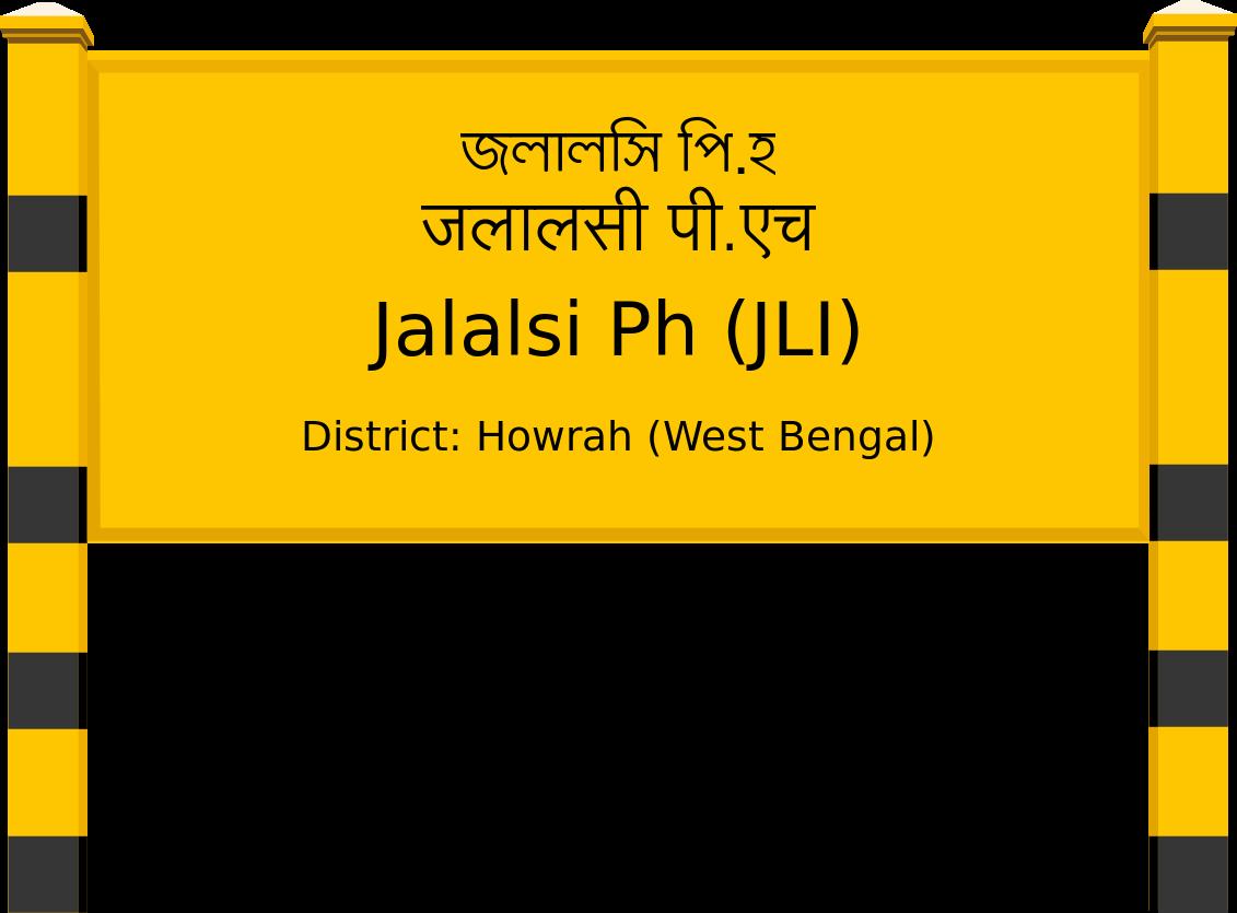 Jalalsi Ph (JLI) Railway Station