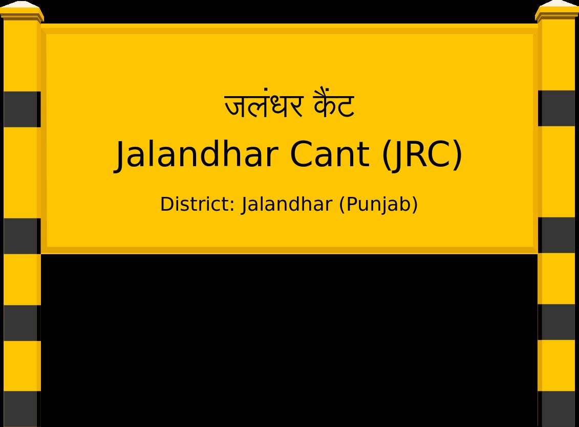 Jalandhar Cant (JRC) Railway Station