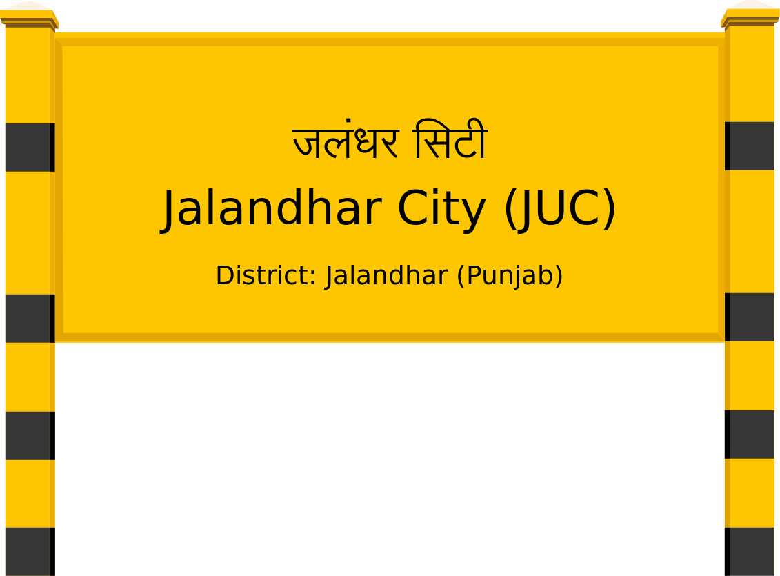 Jalandhar City (JUC) Railway Station