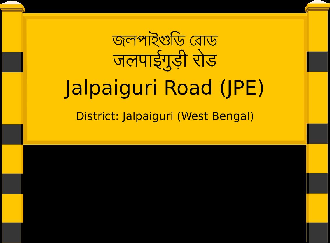 Jalpaiguri Road (JPE) Railway Station