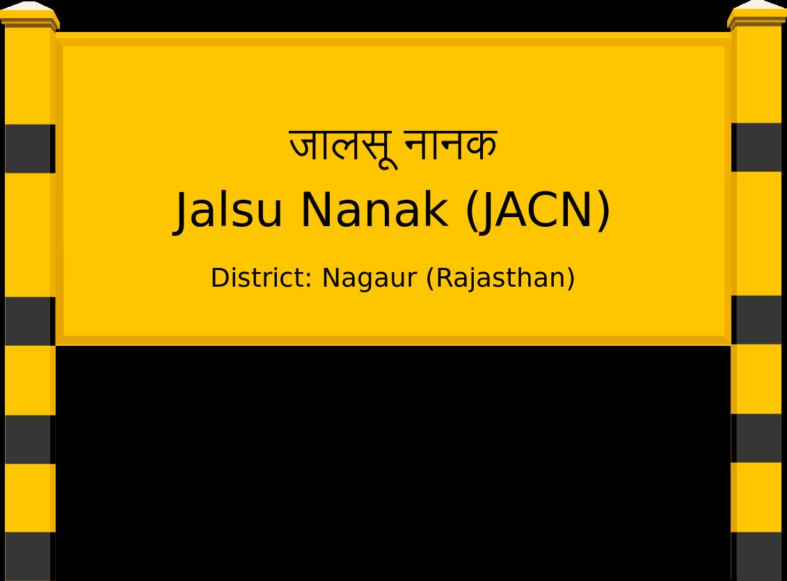 Jalsu Nanak (JACN) Railway Station