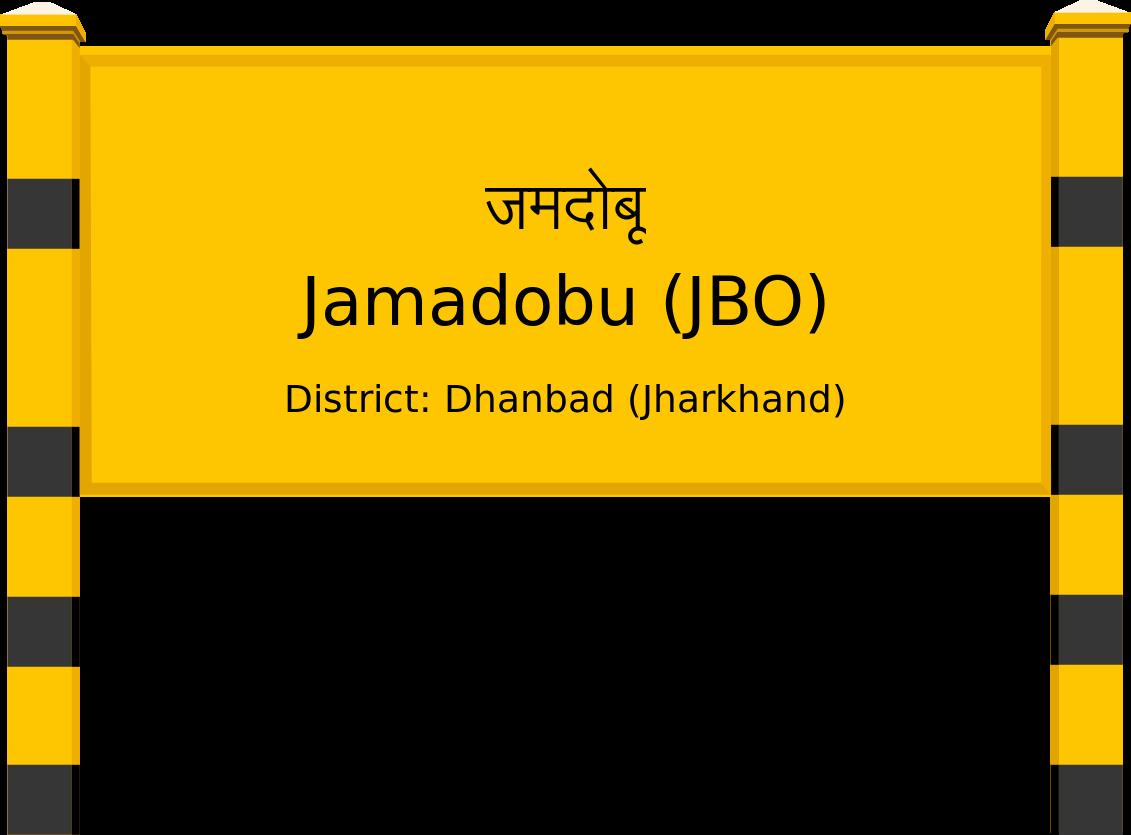 Jamadobu (JBO) Railway Station