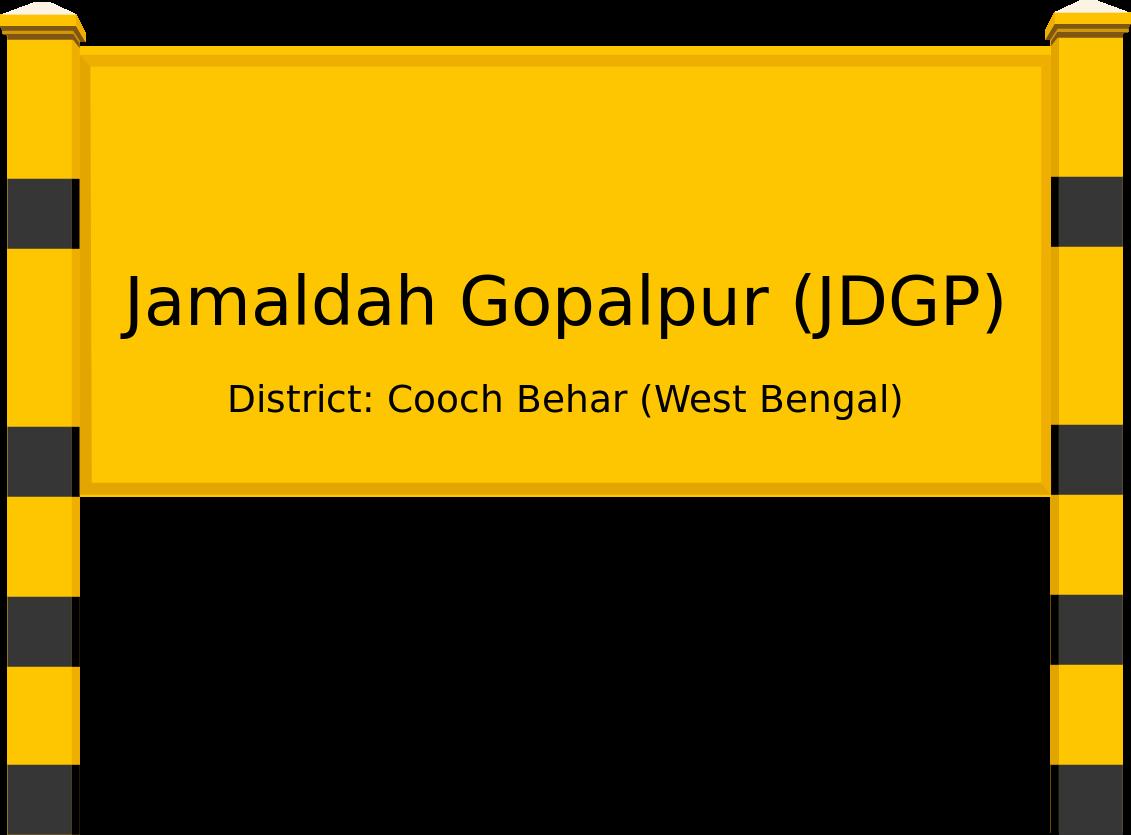 Jamaldah Gopalpur (JDGP) Railway Station
