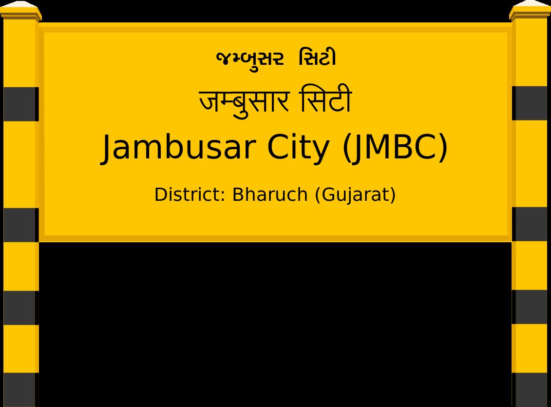 Jambusar City (JMBC) Railway Station