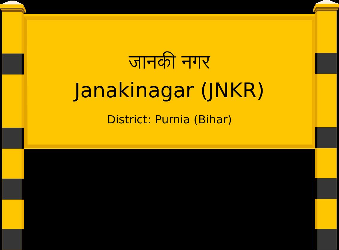 Janakinagar (JNKR) Railway Station