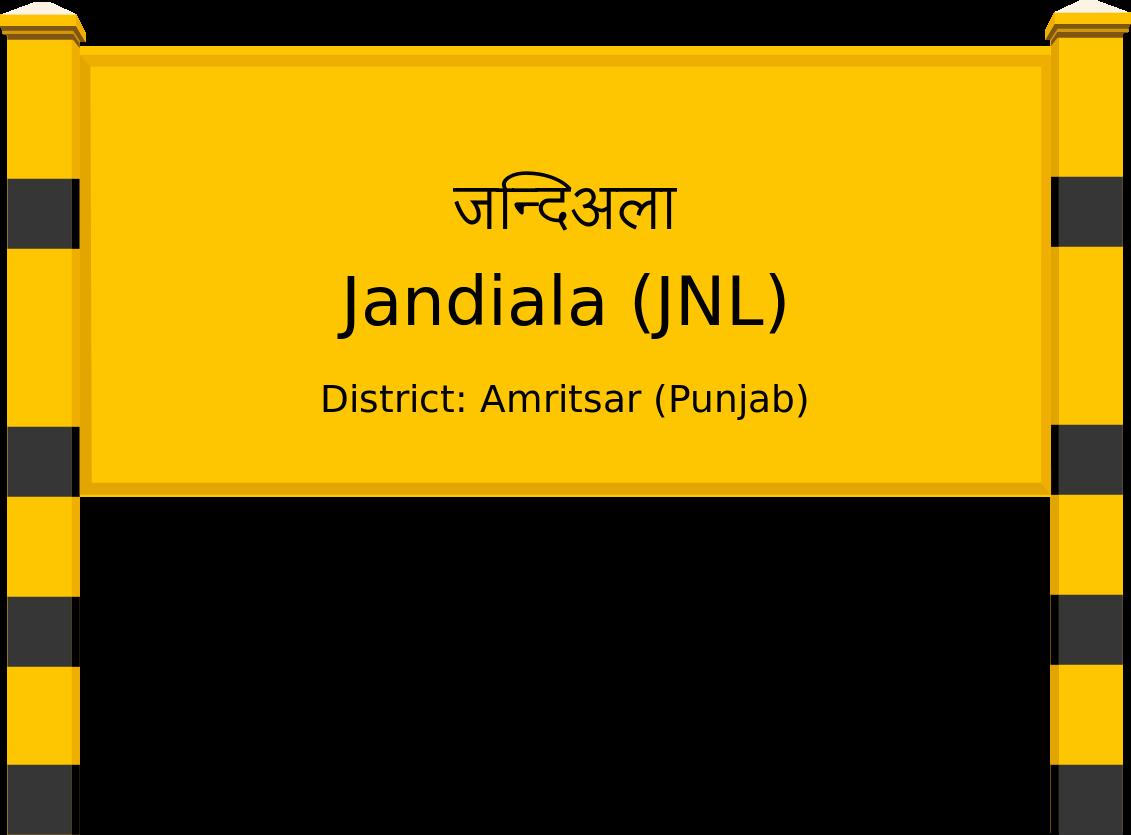 Jandiala (JNL) Railway Station