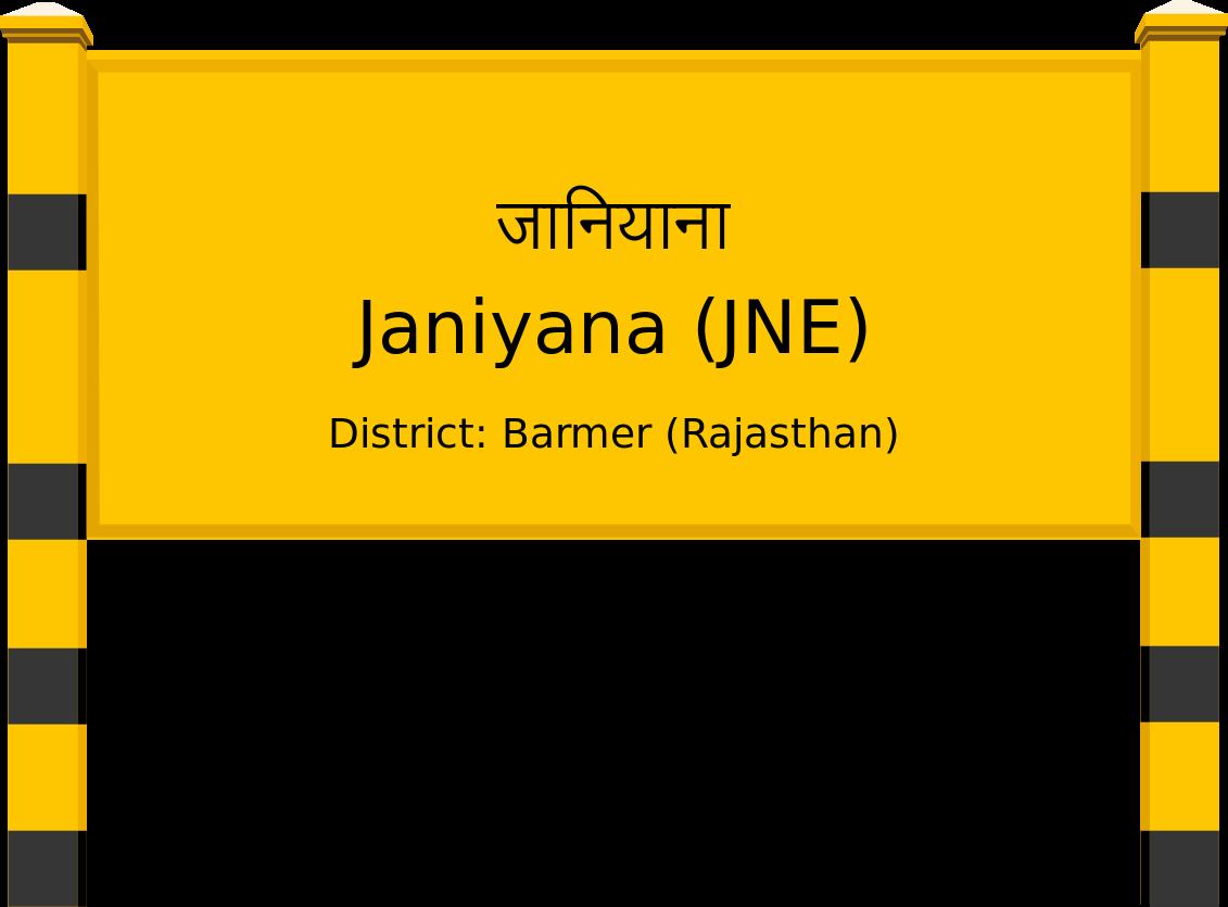 Janiyana (JNE) Railway Station