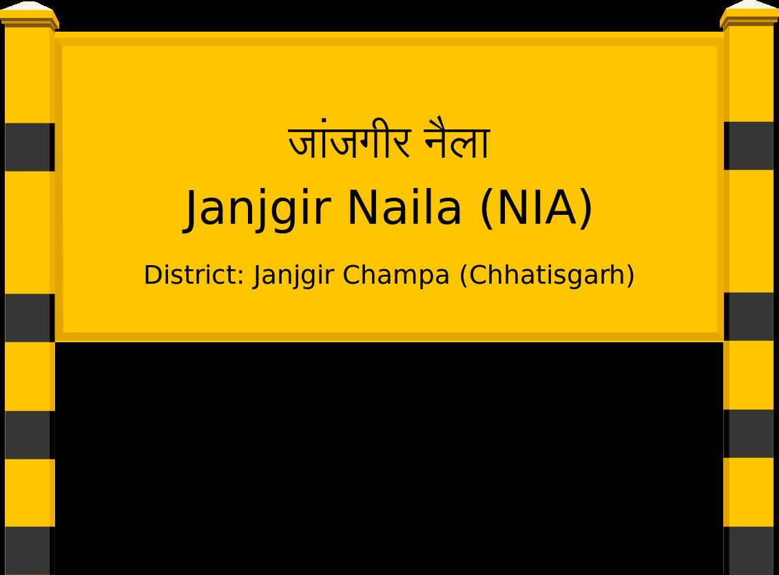 Janjgir Naila (NIA) Railway Station