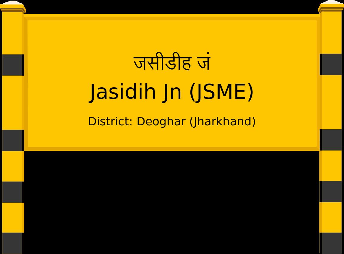 Jasidih Jn (JSME) Railway Station