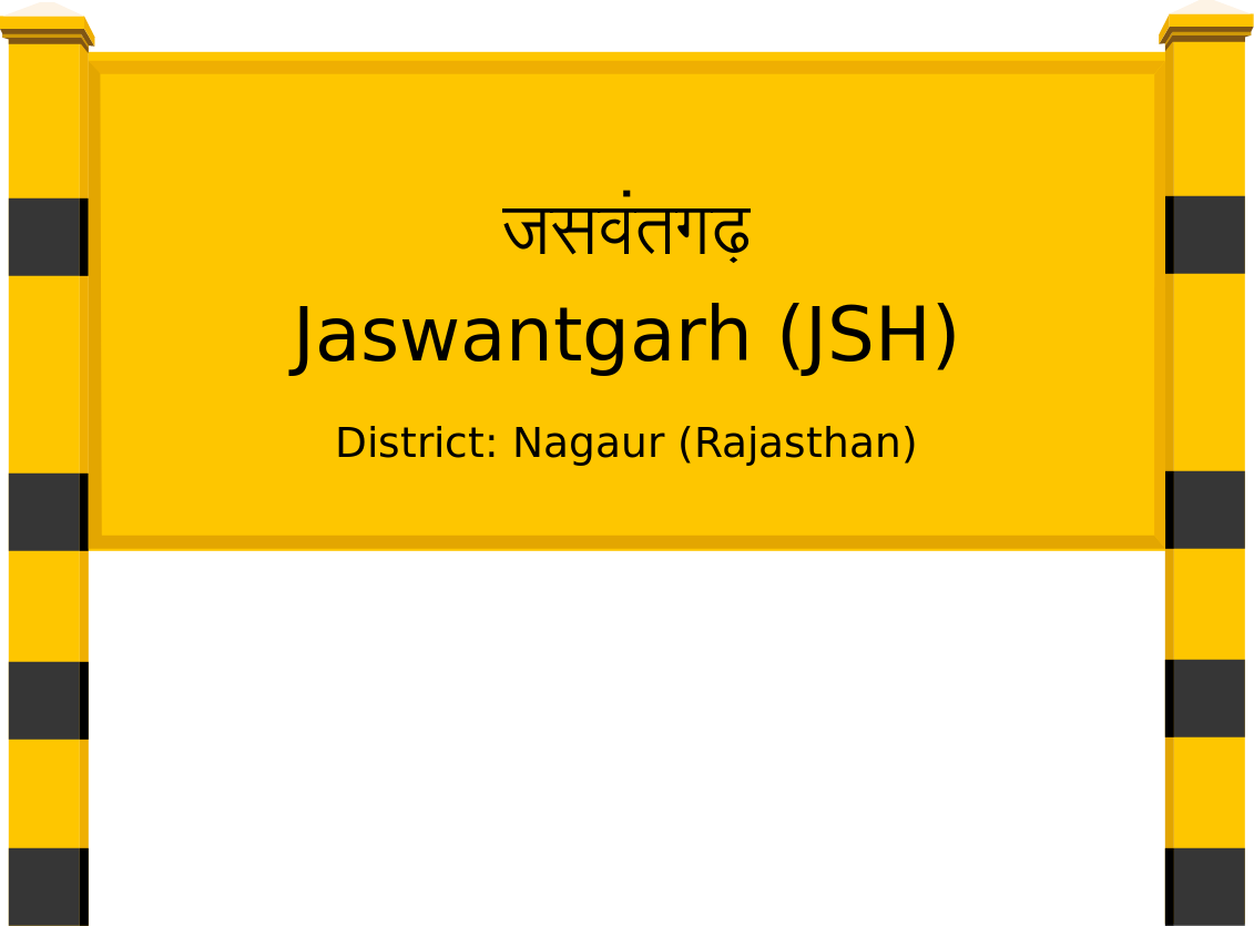 Jaswantgarh (JSH) Railway Station